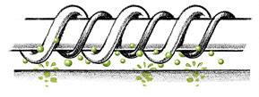 particule de Aloe-Vera impregnate in fibra